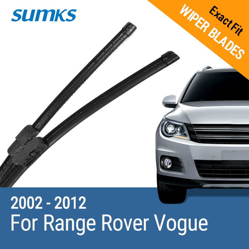 SUMKS Wiper Blades for Land Rover Range Rover Vogue 26&26 Fit  2002 2003 2004 2005 2006 2007 2008 2009 2010 2011 2012