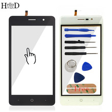 HelloWZXD 5.0'' For Doogee X10 Touch Screen Glass Tested Front Glass Digitizer Panel Lens Sensor Tools Free Adhesive Gift