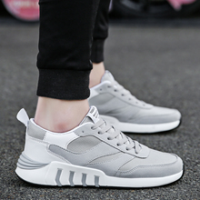 Men Shoes 2018 New Arrival Fashion Mesh Breathable Spring/Autumn Casual Shoes For Men Comfortable adult Casual Shoes   5 spring summer casual shoes for men new arrival ventilation fashion sneakers tourism comfortable breathable men s casual shoes