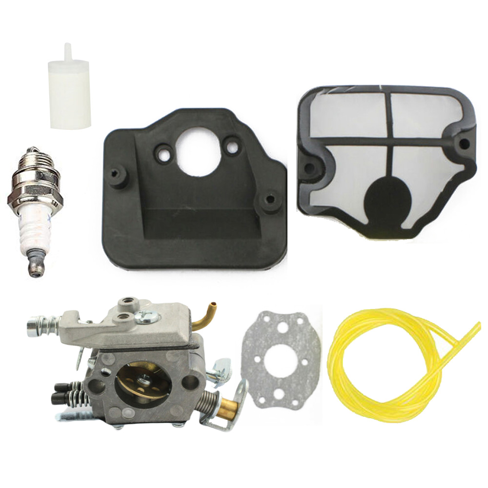 Carburetor Kit For Husqvarna 36 41 136 137 141 142 Chainsaw Zama C1Q-W29E Home Tool Replacement Parts Supplies Accessories