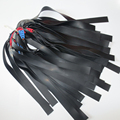 10pieces a lot katapult rubbers used to slingshot bow black color sling shot rubber tourniquet send a gift