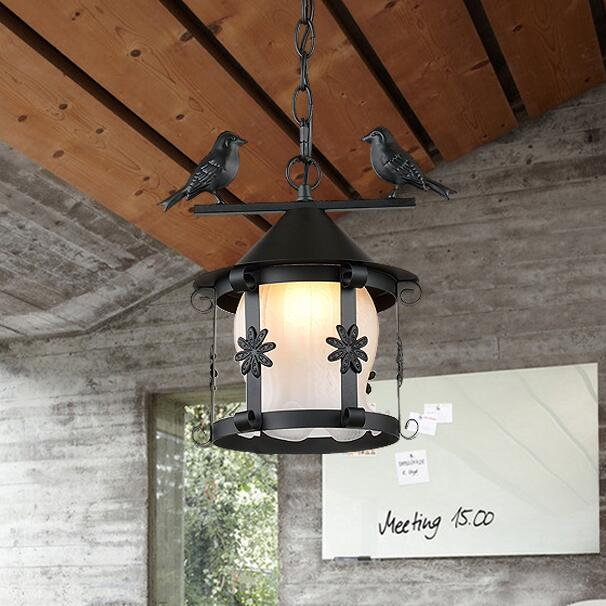 Simple personality fashion pendant lamps american brief fashion single-head rustic wrought iron pendant lights bar lamp ZZP ems free shipping american fashion brief rustic wrought iron pendant light small single head bar pendant fg686