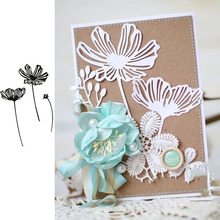 Lacy Poppies Metal Cutting Dies for Scrapbooking and Cards Making Paper Craft New 2019