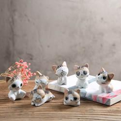 Цзиндэчжэнь китайский Чи сладкий дом керамика украшения творческий мультфильм ремесла международная торговля подарки милый котенок п
