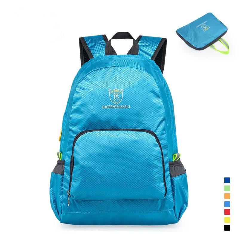 2016 6 Χρώματα αδιάβροχο πολυεστέρα μίνι έφηβος σχολική τσάντα πεζοπορία σακίδιο υπαίθρια ποδηλασία ποδηλασία ταξιδιού ορειβασία τσάντα