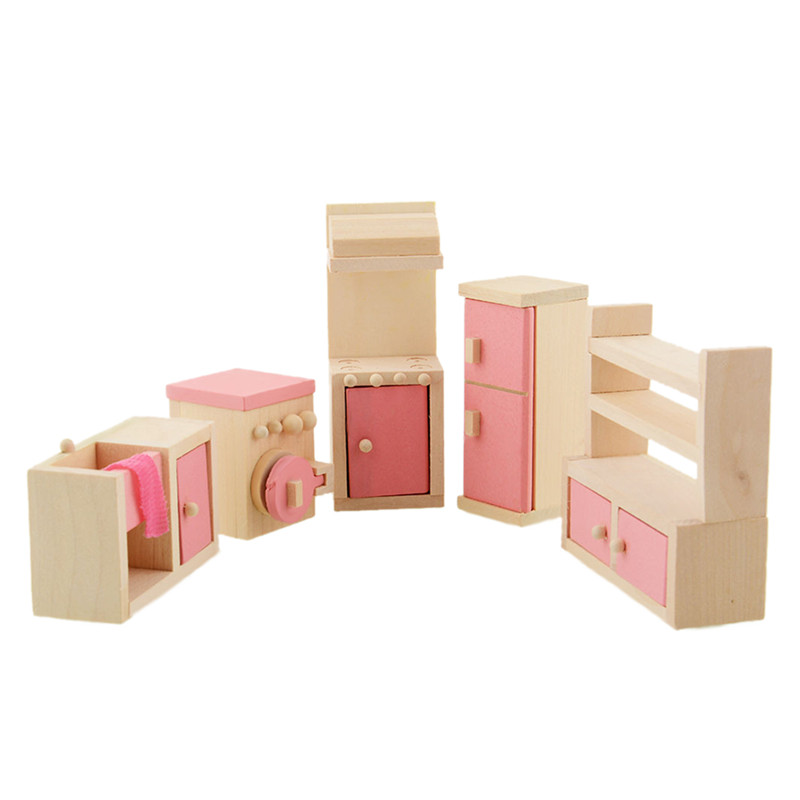 wooden dollhouse furniture kitchen cheap wooden dollhouse furniture