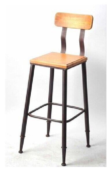tienda online americana de hierro de poca enano fangdeng espalda sillas para hacer viejos de madera silla bar desvn sillas sillas de ocio aliexpress with