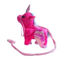 Walking Unicorn Plush Electronic Toy
