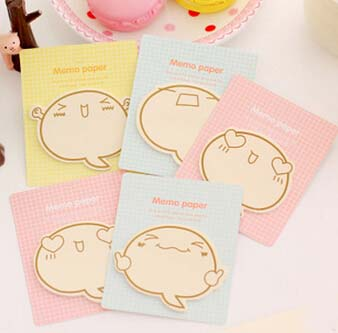 2017 Promotion Cute Big Face N Times Sticky Notes Memo Pad Paper Sticker Post It Notepad Gift Stationery Escolar Papelaria K7460