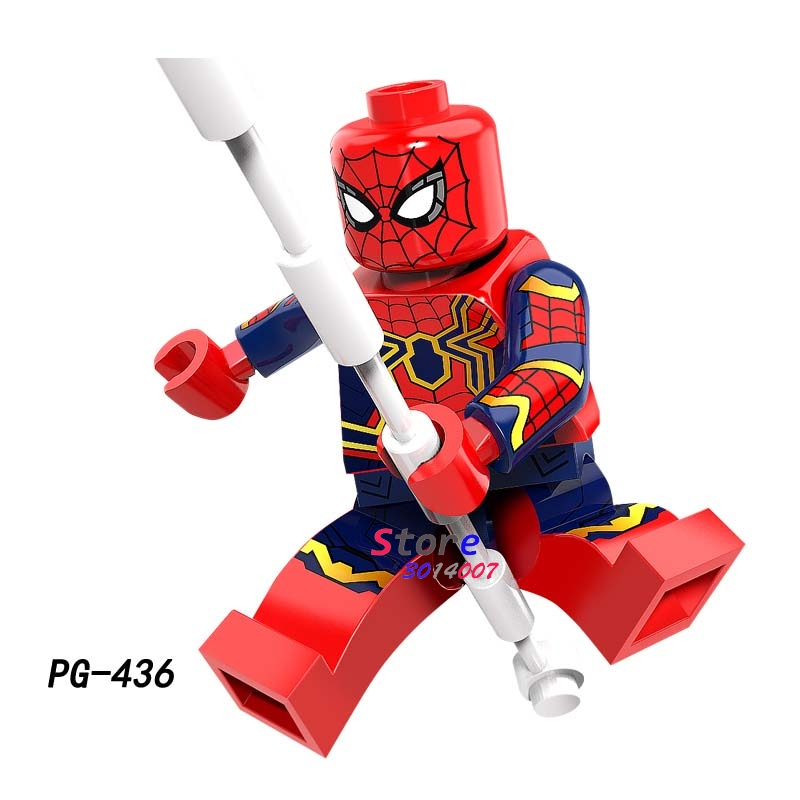 Single marvel Super Heroes Avengers Infinity War Thanos Iron Man Captain America Outrider Glaivabuilding blocks toy for children