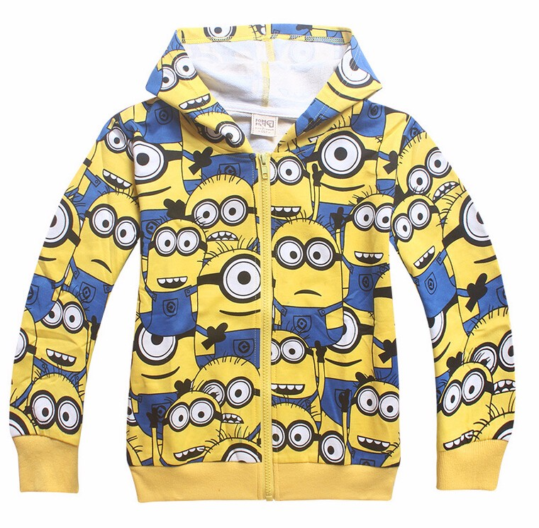 Full Sleeve Despicable Me Hooded Jacket