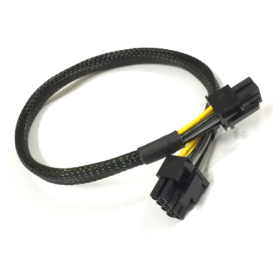 8pin to 8+8pin Power Cable For DELL PowerEdge R720 and GPU card 35cm US
