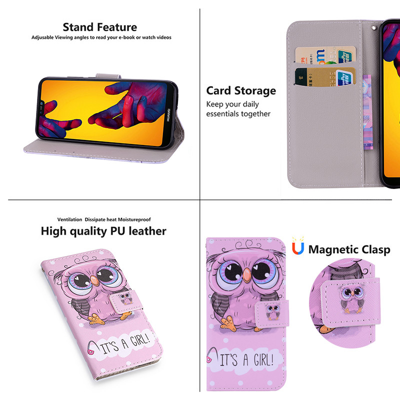 For Huawei P20 Lite Case (62)