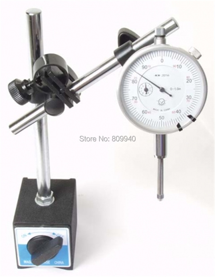 0 10mm dial indicator 60kg Magnetic Base with fine adjustment Magnetic Base Holder Stand Magnetic Correction