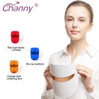 Channy Multifunction 32LED Mask Light Instrument Beauty Skin Acne Phototherapy Photon Whitening Rejuvenation Device For Women