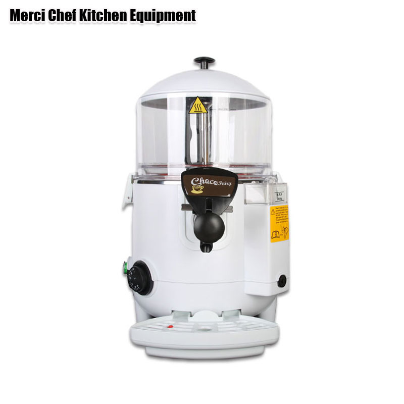 BPA Free 5L Chocolate Machine Hot Chocolate Dispenser Machine Perfect for Cafe, Party Food Processor wavelets processor