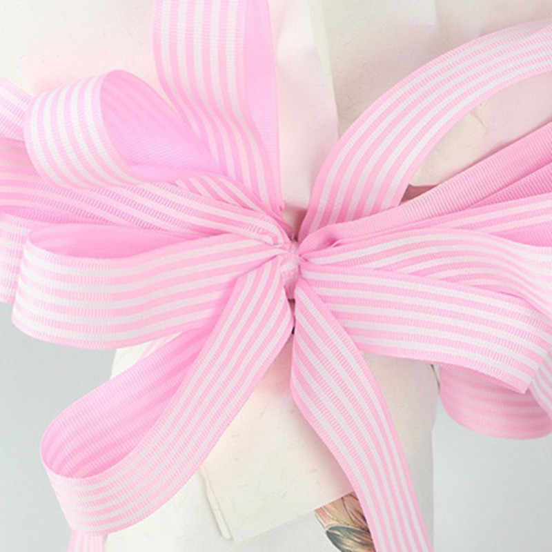 462a539d5614c 1inch x 10m Colorful Stripe Silk Satin Ribbon For Wedding Party Decoration  Bow Crafts Gifts Flower Wrapping Grosgrain Ribbon