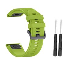 26MM Quick Release Silicone Strap for Fenix 5X Fenix3 3HR 5 Plus For Garmin Instinct Watch Watchband