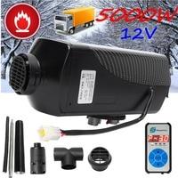 5KW 12 V Air Diesels Heater Standkachel Met Afstandsbediening Riscaldatore Digitale Display