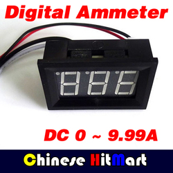 Led digital display red blue green ammeter amp mini current panel meter dc 0 9 99a.jpg 250x250