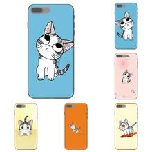 Kawaii Cute Kitten Cat For Samsung Galaxy A3 A5 A6 A6s A7 A8 A9 Star Plus 2016 2017 2018 Soft TPU Cell Cover Case(China)