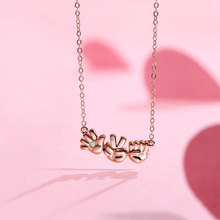 Fashion Jewelry Sign Language I Love You Pendant Necklaces Pinky Swear Okay Hand Gestures Necklace Best Friends