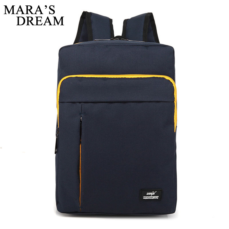 Maras Dream 2017 Women Men Canvas Backpacks Large School Bags For Teenager Boys Girls Travel Laptop Backbag Mochila Rucksack