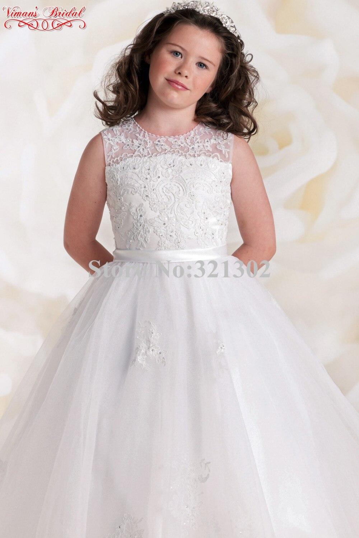 vestidos blancos para ninas