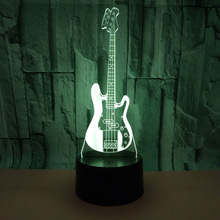 Buy guitar table lamp and get free shipping on aliexpress guitar 3d light acrylic visual stereo 3d table lamps for living room deco enfant chambre desk aloadofball Image collections