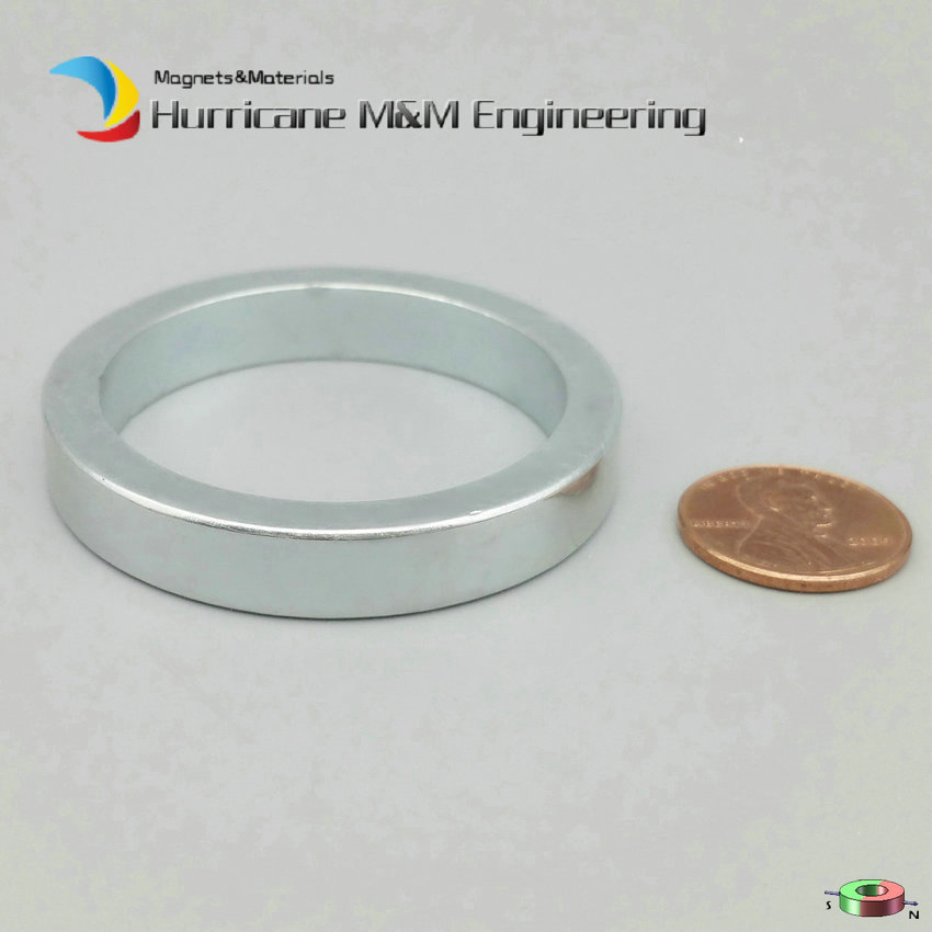 NdFeB Magnet Ring Dia. 50x40x8 mm 2