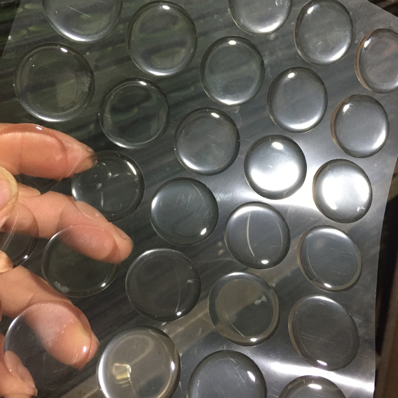 100pcs 1inch Round 3D Transparent Clear Epoxy Adhesive Circles Bottle Cap Stickers Resin Patch Dots For Bottle Caps Crafting DIY