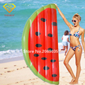 160x80cm Giant Inflatable Watermelon Slice Pool Floats For Adult Children Water Bed Game Toy Air Mattress Kickboard Boia Piscina