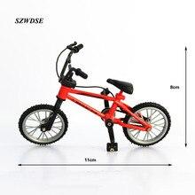 """Engraçado Fuctional Dedo Mountain Bike Bicicleta das crianças Dos Meninos dedo Brinquedo Da Novidade desktop Jogo Criativo crianças 4.4 """"de Liga de Ciclismo"""