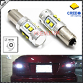 2pcs High Power 50W Extreme Bright 10-CRE'E XB-D H21W BAY9s 120 degress LED Bulbs For Car Parking Light,Backup Reversing Bulb