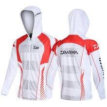 Новая брендовая одежда для рыбалки быстросохнущая Солнцезащитная рыболовная рубашка анти-УФ рыболовная одежда для соревнований с длинными рукавами