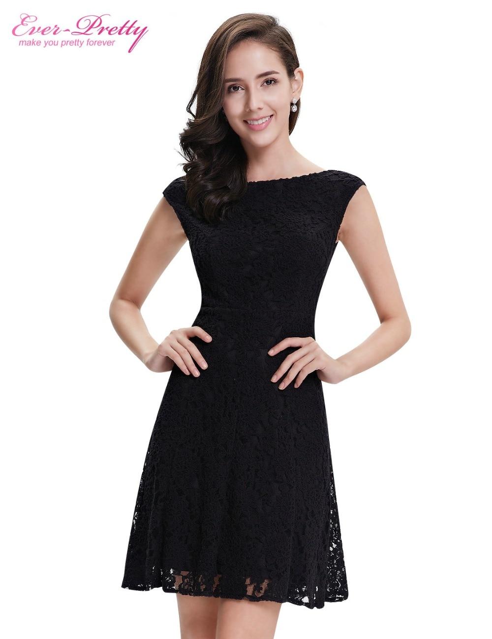 Черные короткие платья на звездах