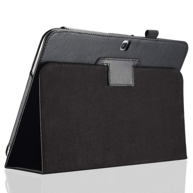 Case Cover for Samsung Galaxy Tab <font><b>4</b></font> 10.1inch SM-T530 T535 T533 Tab4 10 T530 T531 T535 Tablet Case Bracket Flip PU Leather Cover image