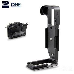 Image 3 - פרו אנכי L סוג סוגר חצובה שחרור מהיר צלחת בסיס עבור Fujifilm XH1 X H1 דיגיטלי מצלמה
