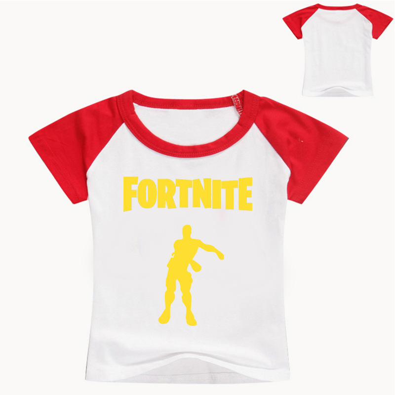 New 3-14T Game Fortnite T Shirt Casual Kids Comfortable Tees Clothing Children Sports T-shirt Tees Girls Boy Summer Top Clothes