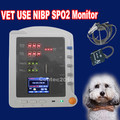 Vet Veterinary ICU Patient Monitor Blood Pressure Oxygen Monitor NIBP SPO2