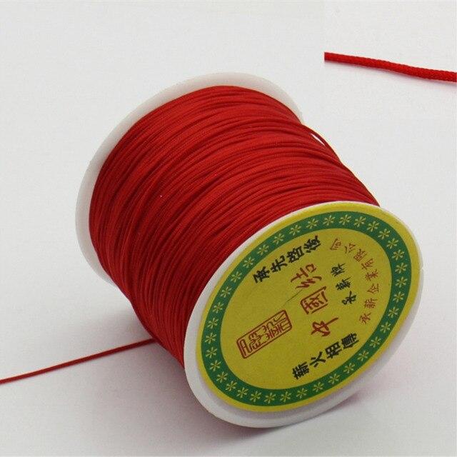 9c9c14a70de6 € 2.17 20% de DESCUENTO|DoreenBeads cuerda de hilo de teryleno nudo chino  rojo 1mm de diámetro, 1 rollo (90 metros/rollo) (B22527) en Fornituras y ...