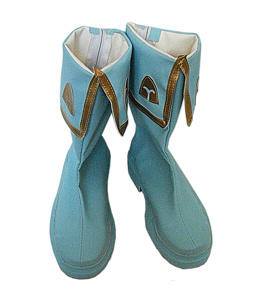 Japanese Anime Cardcaptor Sakura Cosplay  Boots Sakura Shoes Blue Or Red Color Halloween Carnival Women Cosplay Shoes