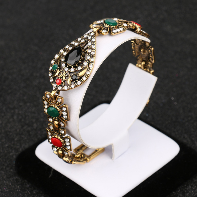 Vintage Crystal Statement Jewelry Set