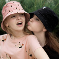 панама Новые весной и летом девушки yizi пятно женские модели принцесса шляпа шляпа солнца ребенок холст hat
