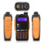 Baofeng GT-3 Mark II VHF/UHF 136-174/400-520 MHz Dual-Band FM Jamón de Dos vías de Radio Walkie Talkie + Original Baofeng Altavoz Remoto
