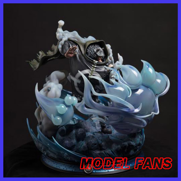 MODEL FANS IN-STOCK LS One Piece fighting KUMA gk resin statue contain led light toy Figure for Collection model fans in stock 40cm one piece edward newgate fighting pose gk resin statue for collection