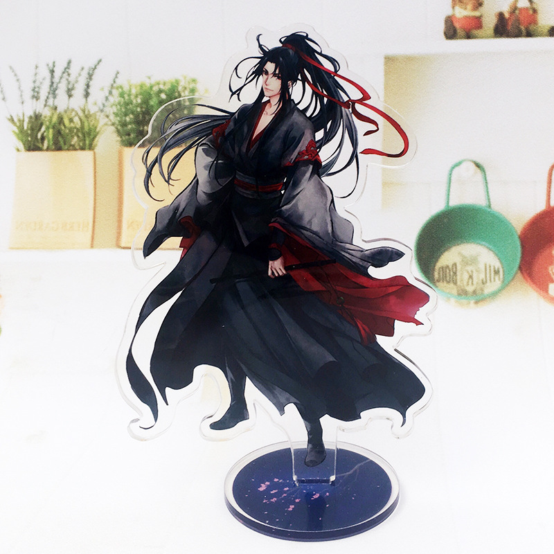 Mo Dao Zu Shi Acrylic Licensing Toys For Children Wei Wuxian Lan Wangji Model Double-Side Desktop Decoration Anime Around ToysMo Dao Zu Shi Acrylic Licensing Toys For Children Wei Wuxian Lan Wangji Model Double-Side Desktop Decoration Anime Around Toys