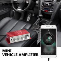 Vehemo Red 12V MA180 Car Amplifier Louderspeaker Audio Amplifier Automobile Car Styling Smart Home