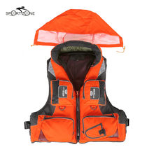 L-XXL Men Women Fishing Life Vest Outdoor Water Sports Safety Life Jacket For Boat Drifting Survival Swimwear Colete Salva-Vidas(China)