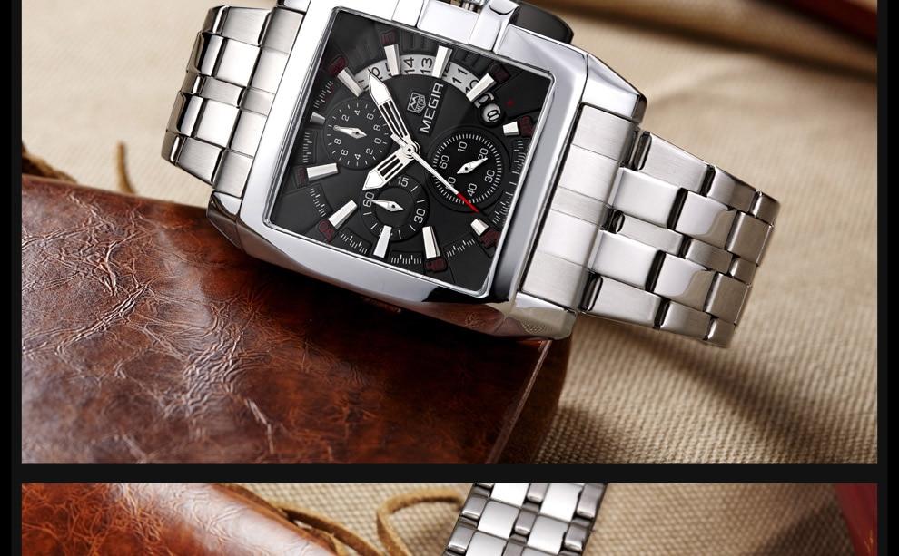 2018-En_25  MEGIR Males's Large Dial Luxurious Prime Model Quartz Wristwatches Artistic Enterprise Stainless Metal Sports activities Watches Males Relogio Masculino HTB11gPFktknBKNjSZKPq6x6OFXar